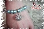 Baby Blue Pearl Companion Bracelet
