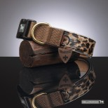 Levin Leopard Dog Collar
