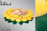 Lillibed 3D Sunflower Dog Bed