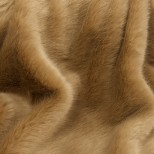 Luxury Faux Fur Pet Throw - Golden Mink