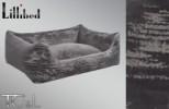 Lillibed Antica Velluto Vintage Pet Sofa - Grey