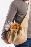 Julia Linen Dog Carrier