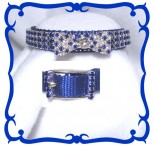 Blue Evening Attire Cat Safety Collar