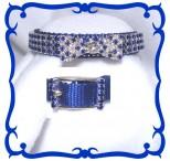 Blue Evening Attire Cat Safety Collar