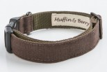 Larry Linen Dog Collar