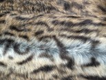 Luxury Faux Fur Pet Throw - Short Haired Leopard