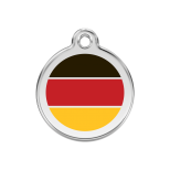 Enamel Tag - German Flag