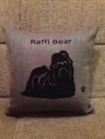 Personalised Shih Tzu Dog Scatter Cushion