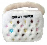 Chewy Vuiton Purse Designer Dog Toy