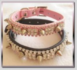 Glamour Spiked Dog Collar