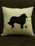 Personalised Sheltie Dog Scatter Cushion