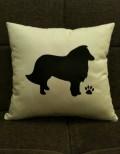 Personalised Sheltie Dog Scatter Cushion
