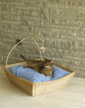 Luxury Wicker Cat Basket