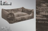 Lillibed Antica Velluto Vintage Pet Sofa - Grey / Beige