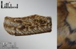 Lillibed Goat Faux Fur Vintage Pet Sofa