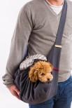 Ludu Linen Dog Carrier