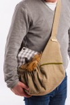 Mita Linen Dog Carrier