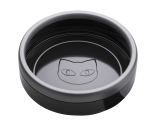 Katchit Enamel Cat Litter Box Black/Grey
