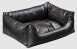 Faux Leather Crocodile Sofa