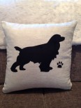Personalised Cocker Spaniel Dog Scatter Cushion