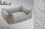 Lillibed Coco Vintage Pet Sofa - Light Grey