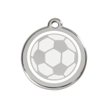 Enamel Tag - Football