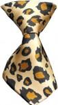 Leopard Dog Neck Tie
