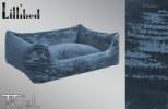 Lillibed Antica Velluto Vintage Pet Sofa - Blue