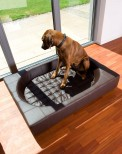 Cube Luxury Dog Bed [Faux Leather]