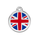 Enamel Tag - UK Flag