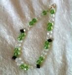 Peridot Dog Necklace