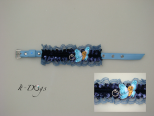 Leather Dog Collar - Butterfly