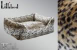 Lillibed Lynx Faux Fur Vintage Pet Sofa