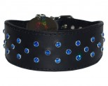 Proud as Punch Swarovski Crystal Greyhound Collar