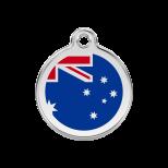 Enamel Tag - Australian Flag