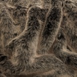 Luxury Faux Fur Pet Throw - Melville Island Wolf