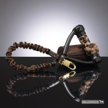 Levin Leopard Anti-Shock Leash with Comfort Handle
