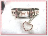 Pink Chihuahua Dog Collar