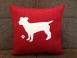 Personalised Jack Russell Dog Scatter Cushion