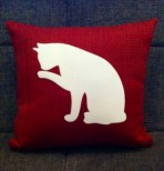 Personalised Cat Scatter Cushion