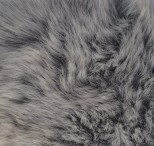 Luxury Faux Fur Pet Throw - Light Grey Mink